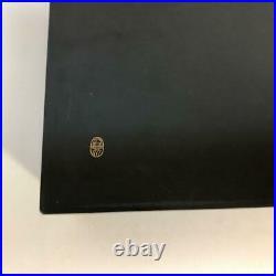 Japanese lacquer Jewelry box, Accessory box Zohiko Gold peony Crane 2set WithBox