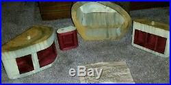 Jeff Trag Buckeye Burl Cedar Wood Handmade Jewelry Box Unique Secret Drawer