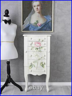 Jewellery Box Cabinet IN Country House Style Mirror Jewelry