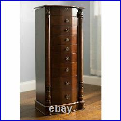 Jewelry Armoire Cabinet Floor Standing Jewelry Box Armoire Large Jewelry Chest
