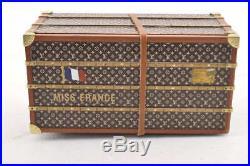 LOUIS VUITTON Novelty Trunk Jewelry Case Jewelry Box 3479