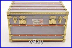 LOUIS VUITTON Novelty Trunk Jewelry Case Jewelry Box Paper Weight LV Auth sa837