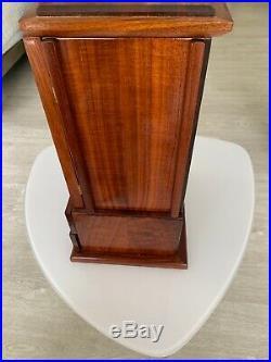 Large Hawaiian Solid koa wood Jewelry Box Armoire