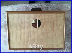 Large Mike Mikutowski Handmade Wood Jewelry Box
