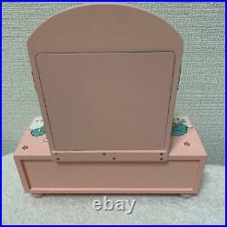 Little Twin Stars Wooden Chest Mirror Accessory Case Figure Jewelry Box 2008