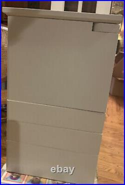 Lori Greiner White Jewelry Box Unique Design Large Solid Wood Storage Organizer