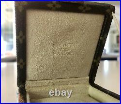 Louis Vuitton LV Monogram Vintage Bijoux Ring Box Mini Trunk