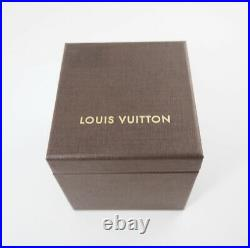 Louis Vuitton genuine Jewelry Earrings box case Color Brown Outer box 820385