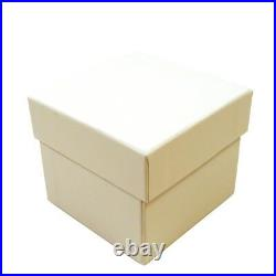 Luxury Real Wood Maple Proposal Presentation Ring Box Engagement Case SP117