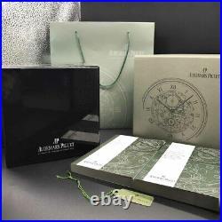 Luxury Swiss Audemars Piguet Watch Box Wooden Chest White AP Jewelry Le Brassus