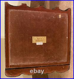 Maitland Smith Tooled Leather Faux False Keepsake Book Jewelry Box Stories