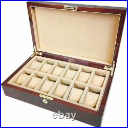 Makah Burl Wood 12 Watch Box