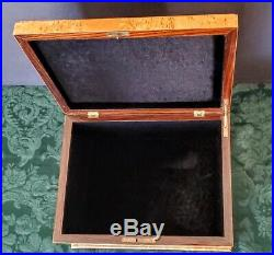 Maple+ Antique Ornate Handmade Inlaid Woods Jewelry or Love Letter Box+