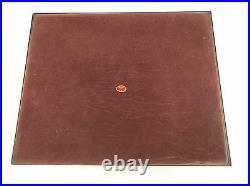 Mark Cross Vintage Burl Wood Collectible Jewelry Box