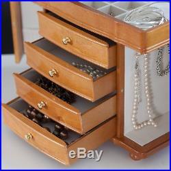 Mele & Co. Josephine Wooden Jewelry Box 14W x 11.5H in