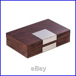 Mens Gifts Natural Lacquered Wood Valet Box Jewelry Box Watch Box
