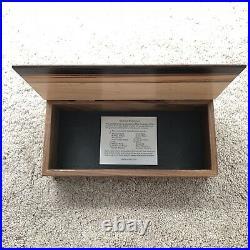 Mikutowski Woodworking Wood Handcrafted Hardwood Jewelry Box Beautiful