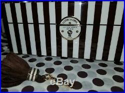 NEW HENRI BENDEL Mirrored Centennial 712 Jewelry Box FREE DUSTER