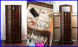 NEW Hives and Honey ANTOINETTE Jewelry Armoire, Antique Walnut