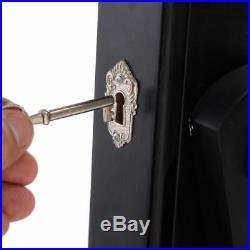NEW Lockable Mirrored Jewelry Cabinet Armoire Mirror Organizer Storage Box Stand