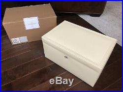 NEW Pottery Barn Mckenna jewelry box Ivory Large NO MONO