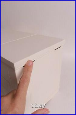 NIB small spot Pottery Barn Ultimate Jewelry Box, extra-large, white