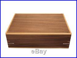 New Large Luxury 10 Walnut Wood Watch Storage Case Jewellery Wooden Box