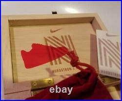 Nike Nordstrom X Miracle Kicks Small Wooden Promotional Box AF 1 Fortune Teller