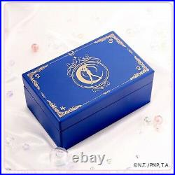 OST X SAILOR MOON Music Box Orgel & Silver Necklace Set Limited Authentic