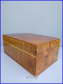 Osvaldo Agresti Italy Burlwood Jewelry Box Nordstrom