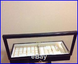 Pandora Jewelry Display Case/Box Original Retail Display With 2 Trays & Keys