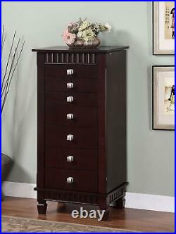 Powell Contemporary Merlot Jewelry Armoire 383-316 (BR1)