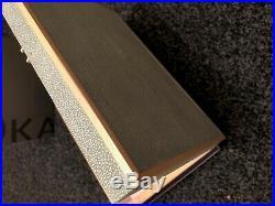 Quality Faux Shagreen Lockable Large Jewellery Box Pale Celadon