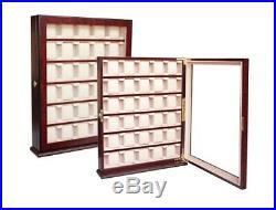 Quality Watch Jewelry Display Storage Holder Case Glass Box Organizer Gift thi