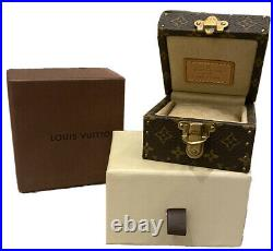 ROCKERS WIFE Louis Vuitton LV Monogram Bijoux JEWELLERY/Ring Box SUITCASE/TRUNK