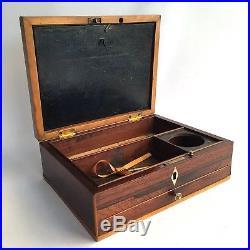 Rare Magnificent Georgian Reeves & Inwood Artist Jewellery Trinket Box C1800