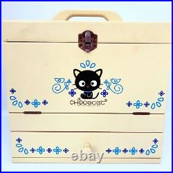 Rare Sanrio Chococat wooden Jewelry Box