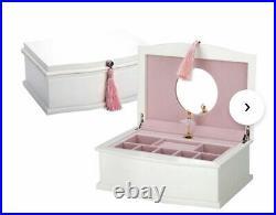 Reed And Barton Ballerina Musical Jewelry Box- NEW