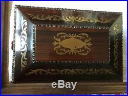 Regency Rosewood sarcophagus jewellery casket