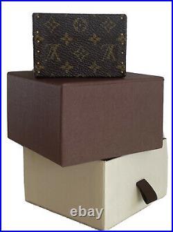 Rocker Wife Louis Vuitton Monogram Bijoux Jewelry/ring/vanity Box Suitcase/trunk
