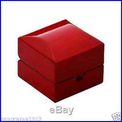 Rose Wood, Premium Ring Box Wedding/Engagement Ring Box Jewelry Box. B3