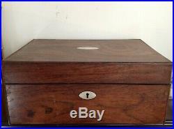 Rosewood Jewelry Box- c. 1860