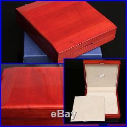 SWAROVSKI Limited Edition CHERRY WOOD JEWELRY BOX with Certificate