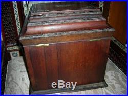 Sale! Early Antique Regency Period 1790-1830 Walnut Jewelry Writing Box 12x12x9