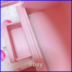 Sanrio Little Twin Stars Chest House Wooden Accessory Case Jewelry Box FedEx