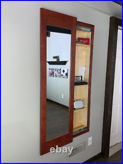 Secret storage mirror, Mirror Safe, Hide money and valuables inside