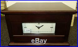 Seiko Wooden Case Jewelry Box With Clock Qxg141blh