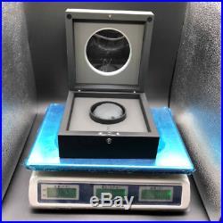 Silver & Gray HUBLOT Watch Box Wood Jewelry Case Black Full Set Bag Pillow Docs