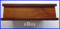 Solid Hawaiian curly koa wood jewelry, valet box hawaii 11 INCHES LONG! SO RARE