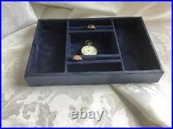 Splendid Satin Wood, Victorian Jewellery Sewing Box With Tray And Key